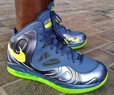Nike Air Max Hyperposite - Charcoal / Atomic Green