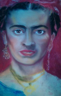 Frida kahlo pastels
