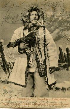Hutsul man. Ukraine