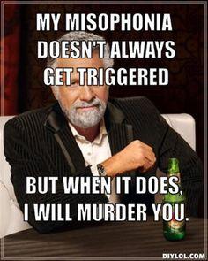 167 Best Misophonia Images Misophonia Hilarious Entertaining