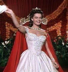 Romy Schneider as Sissi (1, 1955), the boat tour to Austria.