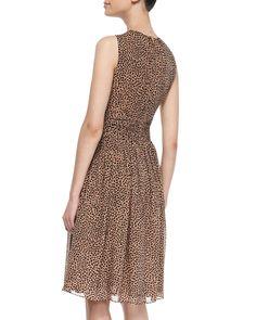 Leopard-Print Dance Dress