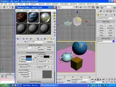 3D맥스 6 초급   15강   재질 편집기 사용하