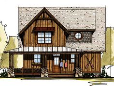 Fabulous Wrap-Around Porch - 18766CK | Cottage, Country, Mountain, Vacation, Narrow Lot, Photo Gallery, 1st Floor Master Suite, PDF, Wrap Around Porch, Sloping Lot | Architectural Designs