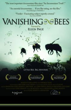 Very important documentary about Colony Collapse Disorder and the vital role honey bees play for our food supply.