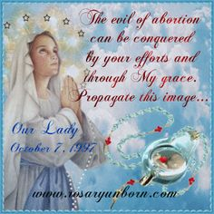 Rosary of the Unborn which will defeat #abortion by God's grace. Obtain your copy: www.rosaryoftheunborn.com or www.rosaryoftheunborn.eu #prolife #catholic #christian #prayerrequest #prayers #pray #rosary #praytherosary
