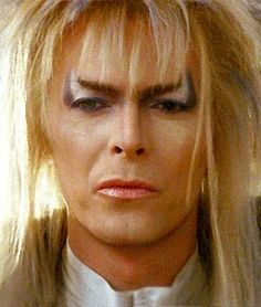 Goblin King Jareth - The original cheekbones.
