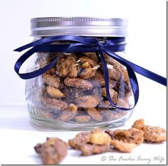 Roasted Spiced Nuts – a Perfect Holiday Gift