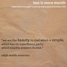 Less is More Quotes: Simple Beauty