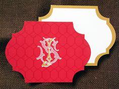 S+J Vintage Monogram Design  Savannah Designer, Emily McCarthy: Custom Monogram Design