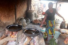 Frying Kuli Kuli   Eggon Nasarawa Nigeria   #JujuFilms #KuliKuli #Nasarawa #Nigeria