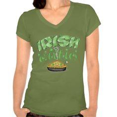 Irish St. Patricks Day T-Shirt  #StPatricksDay #Cute #Irish #T-Shirt #zazzle #jamiecreates1