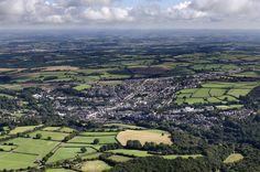 Flying towards Okehampton from the south west by John Fielding #okehampton #devon #aerial #landscape