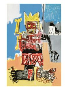 Untitled, 1982 Giclée-Druck by Jean-Michel Basquiat at Art.com