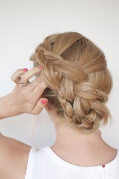 Hair Romance - Twist braid hairstyle tutorial