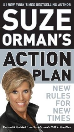 Bestseller Books Online Suze Orman's Action Plan: New Rules for New Times Financial Tips, Financial Literacy, Suze Orman, Finance Books, New Times, Money Saving Tips, Money Tips, Book Nooks, Money Management