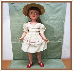 Arranbee R 20 Inch Hard Plastic Doll from COBAYLEY on Ruby Lane