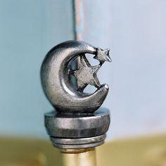 Moon & Star Door Decor Accessories http://hingeheads.com