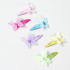 65a5b695d Fashion Jewelry & Accessories   Claire's US. Club HairstylesLittle Girl  HairstylesRainbow ButterflyButterfly HairGirls ...