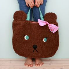 Bear bag, to hold all of my gifts - my tatty devine wish list inspiration board - #ColourfulXmas