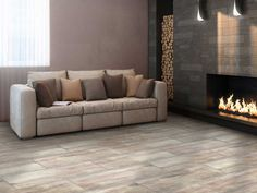 Sandal Wood Grey Floor Tile | CTM