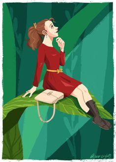 Disneybound - Arrietty