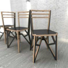 takt chair #plywoodfurniture #cnccutplywoodfurniture #diyfurniture #birchplywood #woodfurniture #modernfurniture #opendesign #dlyplywood #diy #cncplywood #cnc #woodworking #plywooddesigns #furnituredesign #cncrouter #cncdiyrouter #cncdiy #cncwoodworking #manufacturing #coworking #digitalfabrication #plywood Wood Folding Chair, Folding Furniture, Furniture Assembly, Plywood Furniture, Sofa Furniture, Diy Furniture Decor, Recycled Furniture, Modern Furniture, Furniture Design