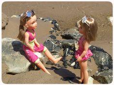 At the beach with friends! #Nancy #dolls #muñecas #poupées #juguetes #toys #bonecas #bambole