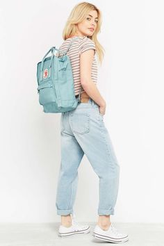 Fjallraven Kanken Classic Sky Blue Backpack. Absolutely love this.
