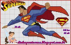 Dinha Ponto Cruz: Superman Gráfico e Monograma