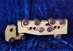 Wooden Toy Hauler ***Updated With Template PDF*** : 5 Steps (with Pictures) - Instructables