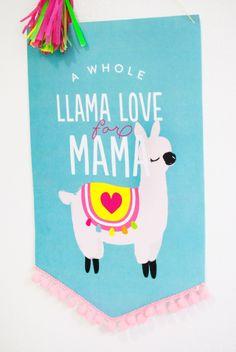 Llama Love for Mama