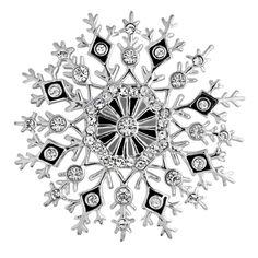 Snowflake Pin - Pins - Jewelry - The Met Store
