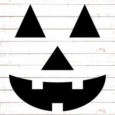 Pumpkin Face Pumpkin Faces, Cute Pumpkin, Free Svg Cut Files, Svg Files For Cricut, Face Cut Out, Jack O Lantern Faces, Art Lessons For Kids, Silhouette Designer Edition, Svg Cuts