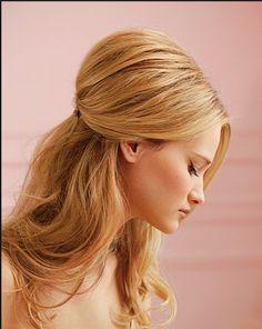 elegant for long hair