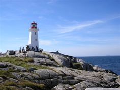 Nova Scotia- Peggy's Cove...I remember sitting on a particular rock in this picture with my mom, taking pictures...forever ago.