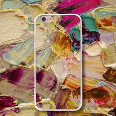 Color Painting Pattern Fashion Tpu Phone Case Cover For Iphone Samsung Huawei