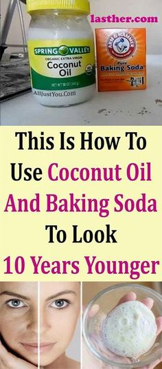 If you have problems with wrinkles and sagging facial skin, do not worry. Baking Soda Face, Baking Soda Shampoo, Baking Soda Uses, Baking With Coconut Oil, Natural Exfoliant, Natural Face Cleanser, Facial Cleanser, Homemade Facials, Homemade Scrub