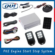 Universal rolling code pke car alarm auto lock unlock remote starter cheap push button engine start buy quality start stop car directly from china buttons buttons suppliers ovi car alarm system auto start push button fandeluxe Gallery