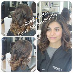 Cabello oscuro, añadiendo algunas mechasbalayage luminosas, el cabello oscuro puede verse más espectacular.  vellesa.salon te asesora en como lucir !  #vellesasalon #jane #makeup #hair #cortes #peinados #maquillaje