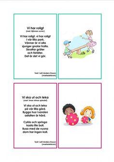 Mariaslekrum - Illustrerade sånger. Learn Swedish, Swedish Language, Music Classroom, Pre School, Singing, Teaching, Education, Math, Tips