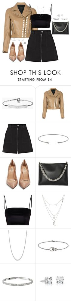 """""""Untitled #753"""" by katiemarte ❤ liked on Polyvore featuring MICHAEL Michael Kors, Alexander Wang, Madewell, Charlotte Russe, Bloomingdale's, Cartier, Blue Nile and Mark Broumand"""