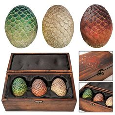 Game of Thrones Dragon Egg Prop Replica Set $99.99