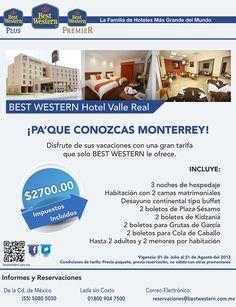 ¡Vacaciones familiares en Monterrey! Aprovecha este paquete por tan solo $2,700
