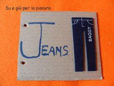 Diy cardboard ABC book: letter J
