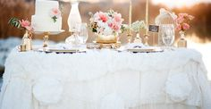 Gold + Peach Mother & Daughter Bridal Inspiration