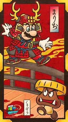 Super Mario Odyssey promo image