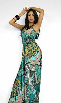 Boho Maxi Summer Dress