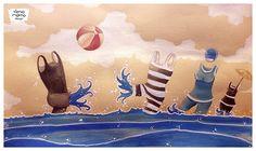 Ylenia Marino - Summer's end - illustration