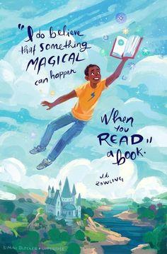 Something magical can happen when you read a book. J.K. Rowling...Bastle einen Flieger aus allem, was schwer ist, und schick ihn mit dem Wind auf die Reise.daher! Sorge für gute Gedanken, trage deine Schönheit in dir, aber lebe heute!!!